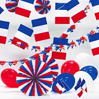 Zoom : Decoration kit, garlands, banners, flags, balloons