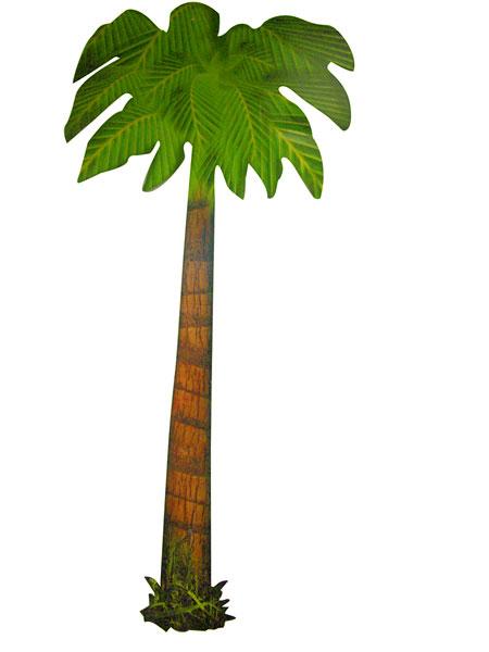 Creation palmier carton po le cuisine inox for Fabriquer un palmier artificiel